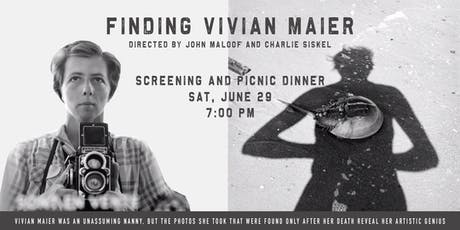 Finding Vivian Maier Screening with Picnic Dinner tickets