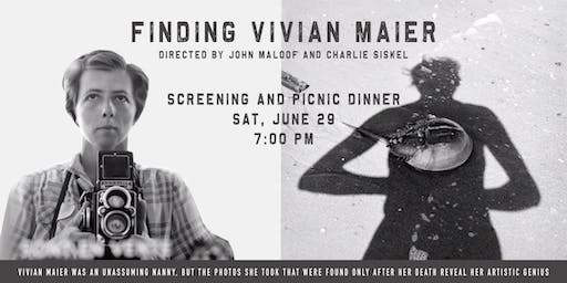 Finding Vivian Maier Screening with Picnic Dinner