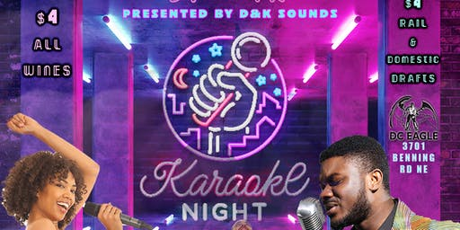 Karaoke EVERY WEDNESDAY at the DC Eagle