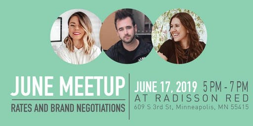 Learn to set your rates and to negotiate with brands - Minneapolis Bloggers MeetUp