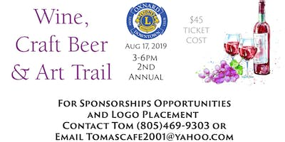 Wine, Craft Beer and Art Trail