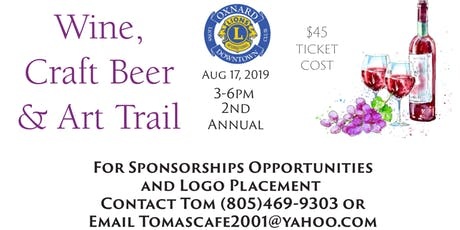 Wine, Craft Beer and Art Trail tickets