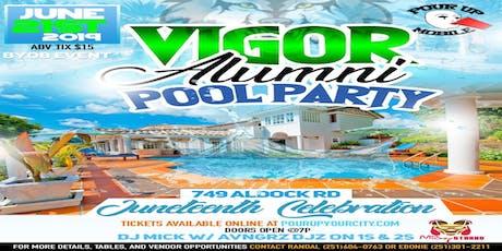 Vigor Alumni Pool Party tickets