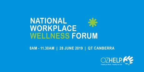 National Workplace Wellness Forum tickets