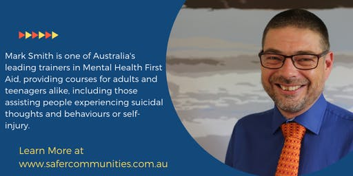 14 Hour (2 Day) YOUTH Mental Health First Aid - SE Melbourne - St Peters College West Cranbourne Campus