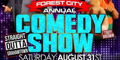 F.A.C.T.S FOREST CITY ANNUAL  COMEDY SHOW