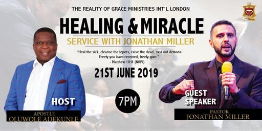 Healing Service With Jonathan Miller