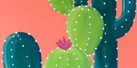 """""""Cactus Makes Perfect"""" Sip'n'Paint tickets"""