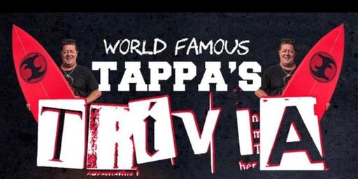TAPPAS TRIVIA presented by Palm Beach Boardriders