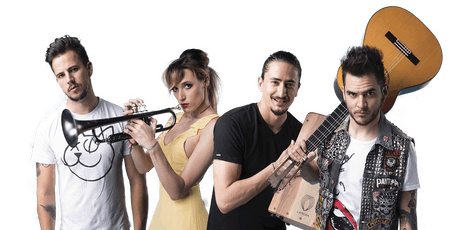 Jenny and the Mexicats with Bella's Bartok tickets