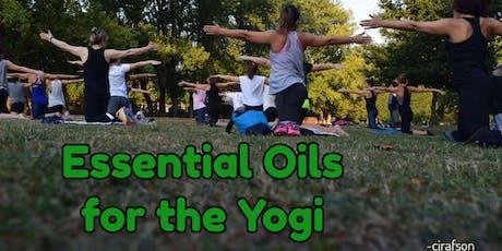Essential Oils for Yogis tickets