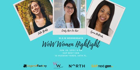 W.O.W Wednesdays- Women of Wearable Technology- June Edition tickets