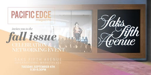 Pacific Edge Fall Issue Launch 2019