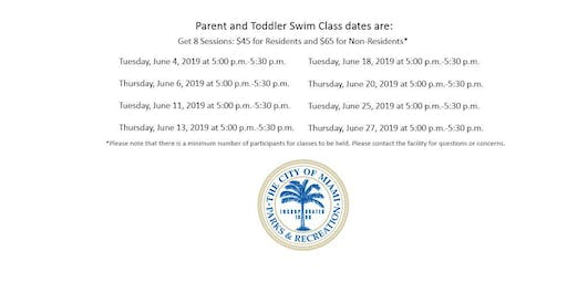 Grapeland Water Park Level Parent and Toddler Tuesday/Thursday (5:00PM-5:30PM)