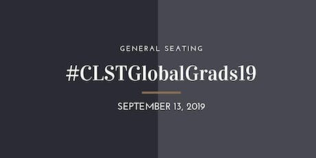 CLST Global Commencement - LIMITED GENERAL SEATING tickets