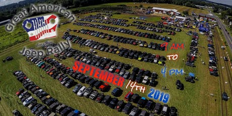 Great American Jeep® Rally 2019 tickets