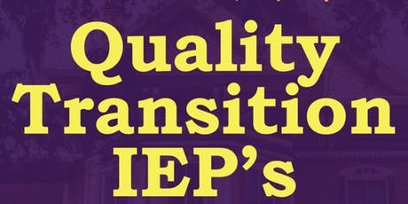 Writing Quality Transition IEP's #1 tickets
