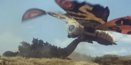 35mm MOTHRA or MOTHRA VS. GODZILLA at the Vista, Los Feliz