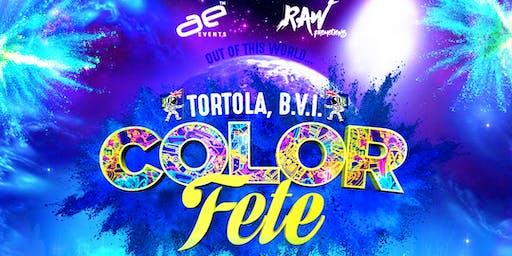 COLOR FESTIVAL - Tortola 2019