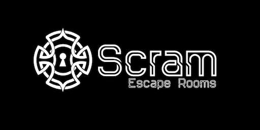 Race the clock with SCRAM Escape Rooms - Session 4 (Ages 10 - 15 years)