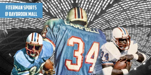 Earl Campbell Meet & Greet - Autograph Signing