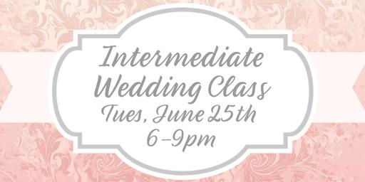 Intermediate Wedding Cookie Class