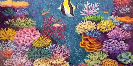 Paint & Sip: Create Your Own Coral Reef tickets