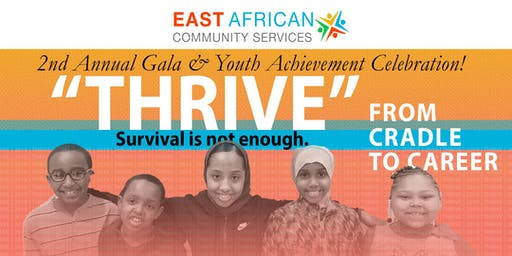 Thrive! EACS' 2nd Annual Gala & Youth Achievement Celebration