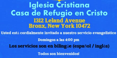 Servicio Evangelistico - Iglesia Cristiana  tickets