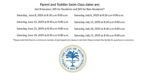 Grapeland Water Park Parent and Toddler Saturday (8:30AM-9:00AM)