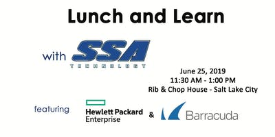 SSA Lunch and Learn