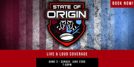 State of Origin G2 Live & Loud (Prahran) tickets
