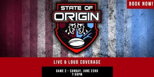 State of Origin G2 Live & Loud (Prahran)