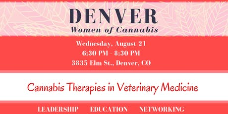 Denver Women of Cannabis - August Networking Event tickets