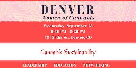 Denver Women of Cannabis - September Networking Event tickets