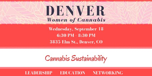 Denver Women of Cannabis - September Networking Event