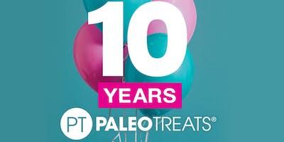 Paleo Treats Inc. 10 Year Anniversary
