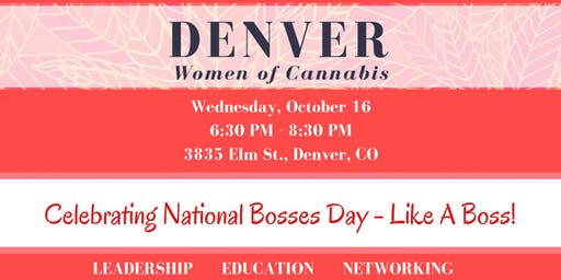 Denver Women of Cannabis - October Networking Event