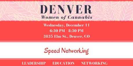 Denver Women of Cannabis - December Networking Event tickets
