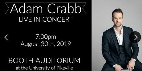 Adam Crabb in Concert  tickets