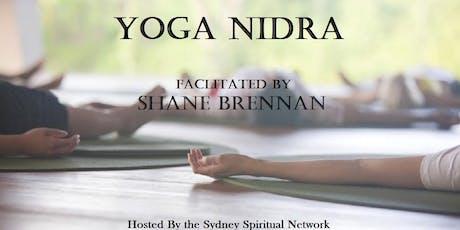 Yoga Nidra: Facilitated by Shane Brennan tickets