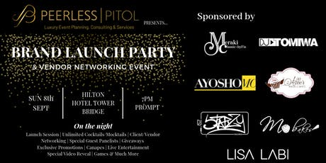 Peerless Pitol Launch Party & Networking Event tickets