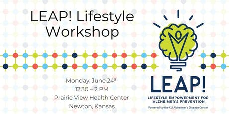 LEAP! Lifestyle Workshop at Prairie View tickets