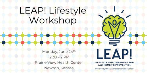 LEAP! Lifestyle Workshop at Prairie View