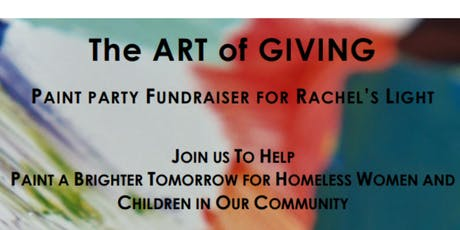 Paint Party Fundraiser for Rachel's Light tickets