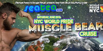 Sea Tea: NYC's Gay Party Cruise - World Pride NYC Muscle Bears Cruise