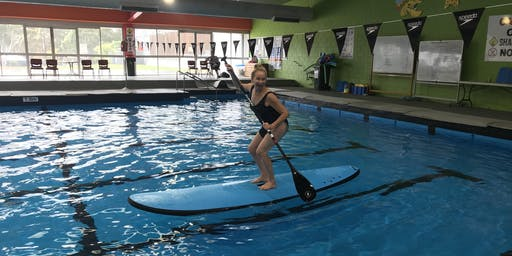 Coasting SUP at Leongatha Splash - June