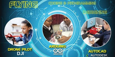 Ticket STEM Coding, Programming & Flying  tickets