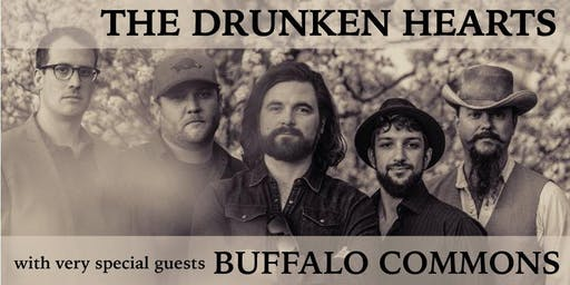 The Drunken Hearts with Buffalo Commons