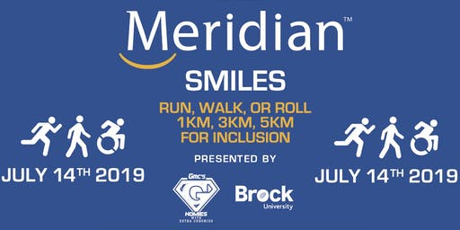 The Meridian Smiles Run, Walk, or Roll for Inclusion